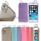 Cute 3D Bowknot Thin Slim Crystal Clear Soft Case Skin Cover for iPhone 6/6 Plus