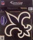 "NFL New Orleans Saints Fathead Teammates  11"" x 12""  Vinyl  Wall Logo $11.99 USD on eBay"