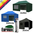 Eurmax Tent Premium 3m x 6m Pop Up Gazebo Instant Awning Folding Marquee Tent