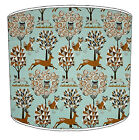 Lampshade Ideal To Match Enchanted Forest Woodland Cushions Wallpaper & Curtains