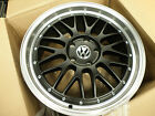 "18"" BLACK SILVER ALLOY WHEELS TO FIT VW TRANSPORTER T5 VAN CARAVELLE ALLOYS"