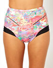 Insight Multicolor Static Print Wet Shorts K-89