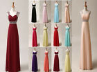 New Formal Long Evening Gown Party Prom Bridesmaid Dress Size 6/8/10/12/14/16/18