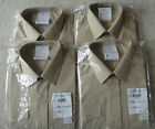 British Army No2 Dress Shirt Womans Fawn Army All Ranks New Cadets Fancy Dress