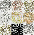 Wholesale 4/5/6/7/8/10/12mm Jump Rings Open Connectors Beads For Jewelry DIY HOT