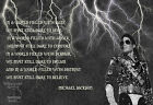 Michael Jackson Poster Print Quote Famous Picture Wall Art Gift - All Sizes
