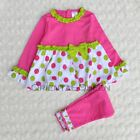 Baby Toddler Children Girls Clothes New Long sleeve Pink 2PC Sets Outfits