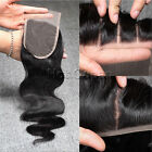 Body Wave Lace Closure Peruvian Virgin Hair Top Front Swiss Lace Closure 4