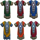 Kaftan Caftan Tribal African Ethnic Cotton Dress Plus Size - up to size XXL