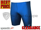 *CLEARANCE NEW* SPEEDO JUNIOR ENDURANCE+ JAMMER - ROYAL - 32,36,38,40