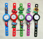PLANT V ZOMBIES JIBBITZ BAND WATCH  & A SET OF 9 CHARMS, BRAND NEW