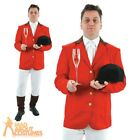 Mens Fox Hunter Costume Adult Hunting Fancy Dress Stag Outfit Snob Horse Rider