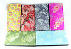 Chinese Handmade Classic Silk Rectangle12Square Jewelry Box Compartment Gift box