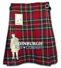 GENTS' QUALITY 5-YARD SCOTTISH PARTY KILT - STEWART ROYAL - SIZE OPTIONS!