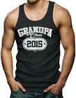 Grandpa Since 2015 - Father's Day Men's Tank Top T-shirt