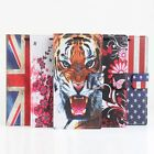 "Tiger Printing Painted Pattern Leather Case Cover Skin For 5"" Cubot X9 Cellphone"