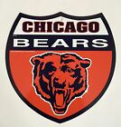 "NFL Interstate Sign 12"" CHICAGO BEARS Shield Sign MAN CAVE DECOR"