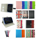 Universal Wallet Case Cover fits Ninetec Inspire 10 Inch Tablet PC