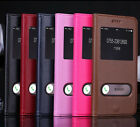 Genuine Real Cow Leather View Flip Stand Cover Case For Apple iPhone 6 6S Plus