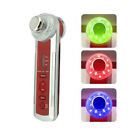 4 in1 Photon Ultrasonic LED Electric Facial Massager Body  Beauty Skin Care New