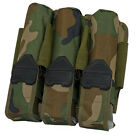 New Valken V-TAC Paintball MOLLE 3+4 POD Vest Pouch - Woodland Camo