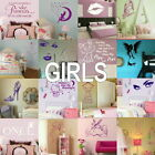 Girls Wall Stickers - Home Art Decor - Self Adhesive Vinyl Transfer / Decal 2