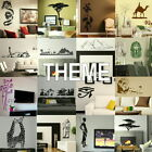 Theme Wall Stickers - Home Art Decor - Self Adhesive Vinyl Transfer / Decal 2