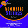 More images of Coban Electro Acoustic PHOSPHORUS BRONZE GUITAR strings wound ball 12-52 SCG2