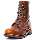 Chippewa G22 Mens Leather Tan Ankle Boots