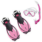 Mares Set Junior Allegra Seahorse  Rosa 01IT