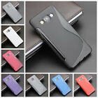 For Samsung Galaxy A3 A5 A7 A8 2015 S Line Skidproof Rubber Gel skin case cover