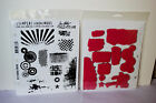 Stampers Anonymous - Ranger - Tim Holtz Rubber Stamps Sets 10 Choices Grunge +