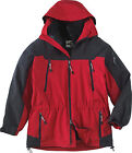 North End Men's 3-In-1 Parka Water Resistant Jacket (E2W1)