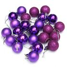 24PCS Christmas Tree Decor Ball Bauble Hanging Xmas Party Ornament Decor Home US