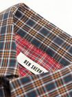 Ben Sherman Mens Long Sleeve Oxford Tartan Check Casual Shirt BNWT RRP £60 Navy