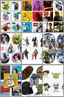 Star Wars Stickers & Tattoos - Birthday Party Supplies - Dots - The Force & More $12.5 AUD