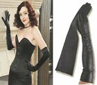 65cm(25.50 inches)Women's 100% Leather Opera /Evening/Party Gloves