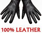 New Women's(100% Real Leather) Winter Warm Gloves *Black Brown
