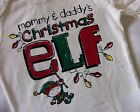 TCP BABY BOY GIRL MOMMYS & DADDYS CHRISTMAS ELF BODYSUIT 0-3M - 12-18M