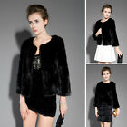Best Quality 100% Real Genuine Mink Fur Jacket Coat Outwear Garment Clothing