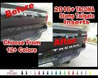 2016 + Toyota Tacoma Custom Tailgate Vinyl Decal Inserts Letter Graphic Sticker