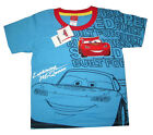Boys LIGHTNING McQUEEN cotton summer t-shirt Size S-L Age 3-5 yrs Free Ship