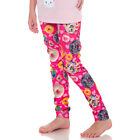 Girls Hot Pink Donuts Cakes & Pastries Leggings Stretch Fashion Pants