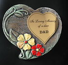 Beautiful Heart shaped Memorial grave stone.  Hand finished - Unique exclusive