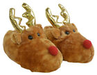 Christmas Reindeer Children's Slippers