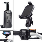 Motorcycle M10 Stud Ball Extended Mount + One Holder for Universal Mobile Phone