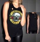 Guns N' Roses metal rock Girls Muscle sleeveless Tank T-Shirt M L XL NWT