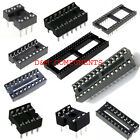 Standard/Turned 6,8,14,16,18,20,22,24,28,32,40,42,48 Pin IC Socket