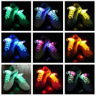 Fashion Waterproof Light Up LED Flash Glow Shoelaces Stick Strings Party Disco
