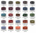 22mm Nylon Wrist Watch Band Strap Watch Stainless Steel Buckle 24color available